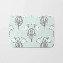seamless pattern with many abstract dream   may-lily Bath Mat