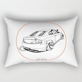 Crazy Car Art 0221 Rectangular Pillow