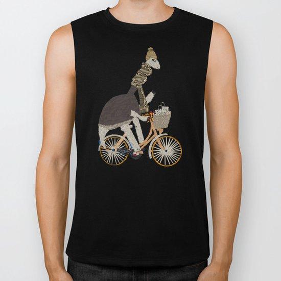 shopping for dinosaurs Biker Tank