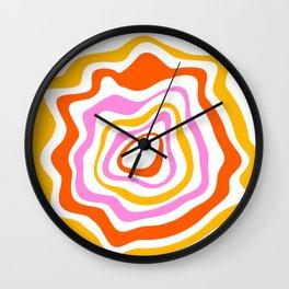 Geode 02 Wall Clock