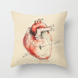 Cabinet of Curiosities No.5 Throw Pillow