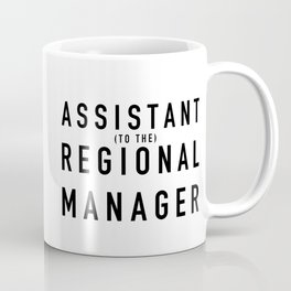 Assistant (to the) Regional Manager - The Office Coffee Mug