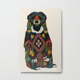 sun bear almond Metal Print