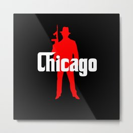Chicago mafia Metal Print