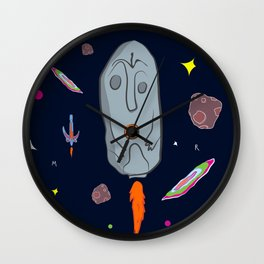 Megalith Rocket Wall Clock