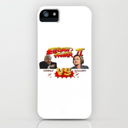 Election Fighter II 8bit iPhone Case