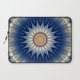 Mandala blue created by Tutti Laptop Sleeve