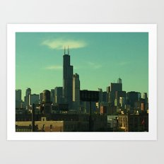 Portrait of a City Art Print