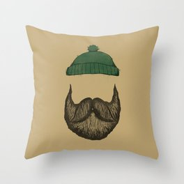 The Logger Throw Pillow