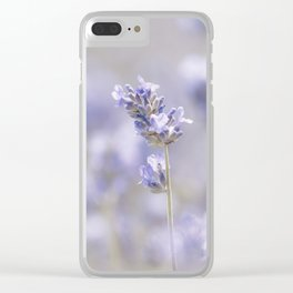 Lavenderfield - Lavender Summer Flower Flowers Floral Clear iPhone Case