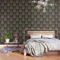 Art Nouveau Floral Pattern by burcukorkmazyurek