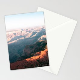Sunset at the Grand Canyon north rim | USA travel photography Stationery Cards