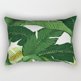 banana leaf palms Rectangular Pillow