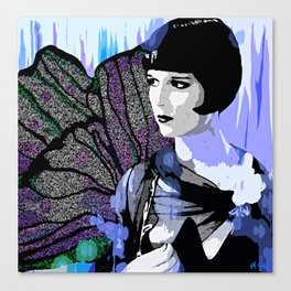 Louise Brooks:  We'll Always Have Paris Canvas Print