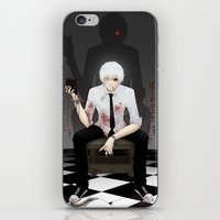 tokyo ghoul iPhone & iPod Skins featuring Kaneki Tokyo Ghoul 2 by Prince Of Darkness
