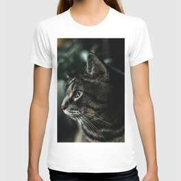 Cat portrait T-shirt