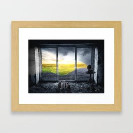 Phonographe Framed Art Print