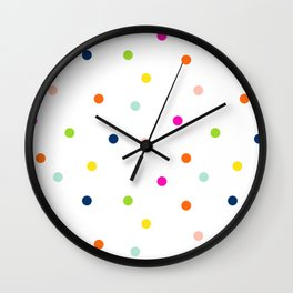 Hello Dotty Wall Clock