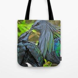Nicobar Pigeon Tote Bag