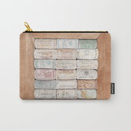 Wine Cork Trivet Carry-All Pouch