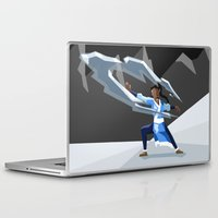 avatar the last airbender Laptop & iPad Skins featuring Avatar- Water by itsamoose