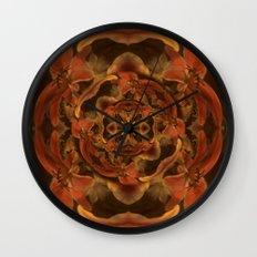 Composición floral Wall Clock