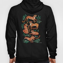 Cheetah Collection – Orange & Green Palette Hoody