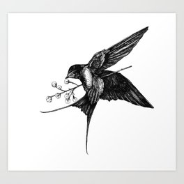 Endless Melancholy Art Print