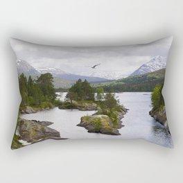 The wilderness Rectangular Pillow