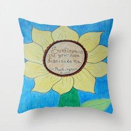 The gardens of Buckingham and Nicks Throw Pillow