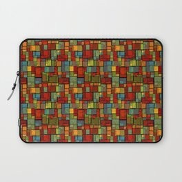 Stained Glass Geometric Pattern Laptop Sleeve