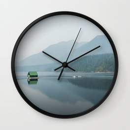 House on The Water Wall Clock