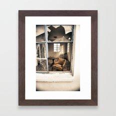 Roy's Motel/Cafe Framed Art Print