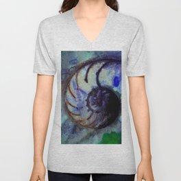 Sea Wish 1B by Kathy Morton Stanion Unisex V-Neck