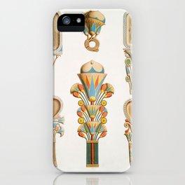 Émile Prisse d'Avennes - Boxes and utensils from Histoire de l'art égyptien iPhone Case