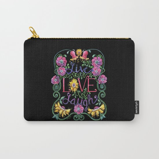 Live Love Laugh 2 Carry-All Pouch