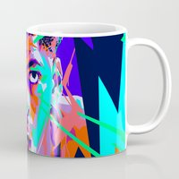 nba Mugs featuring Anthony Davis Nba illu V3 by mergedvisible