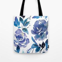 Royal Blue Garden 01 Tote Bag