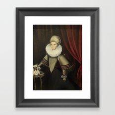 Noblewoman Framed Art Print