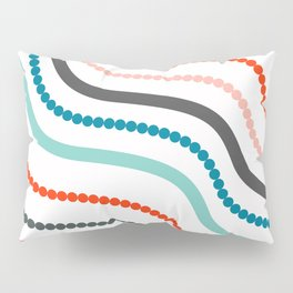 Beads and ribbons Pillow Sham