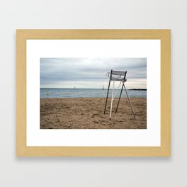 Memories of the Beach Framed Art Print
