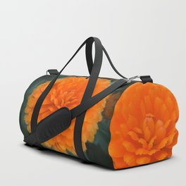 A Floral Flame Duffle Bag