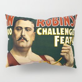 Louis Cyr, Strongest Man on Earth Pillow Sham