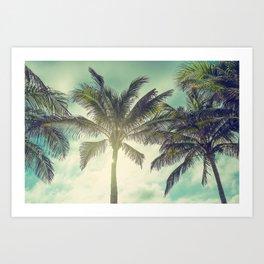 Palms Away - Study 39 Art Print