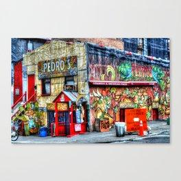 Mexican  Bar Canvas Print