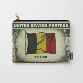 Flag of Belgium Carry-All Pouch