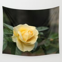 friendship Wall Tapestries featuring Friendship Rose by Klacey's Photography