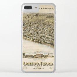 Laredo 1892 Clear iPhone Case