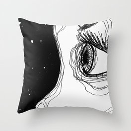 Eye To The Sky Throw Pillow