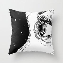 Eye To The Sky Throw Pillow
